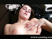imagen Timid student gets creampied in casting
