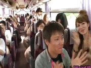 imagen Crazy Asian babes are taking a bus tour