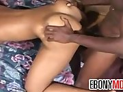Short Haired Ebony Girl Fucking