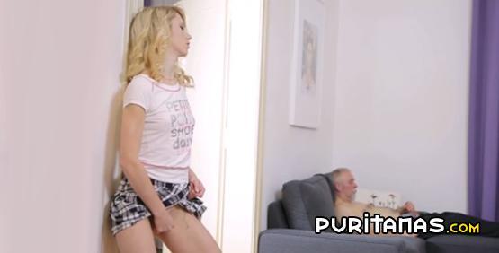 Abuelo con su nieta porke ella no le tiene confianza - 2 part 5