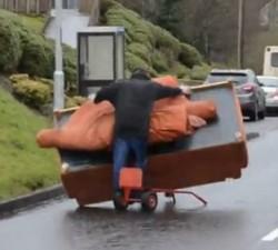 imagen Irlandeses borrachos de traslado