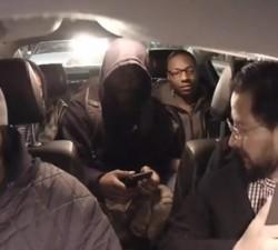 imagen Asuntos de drogas en un taxi