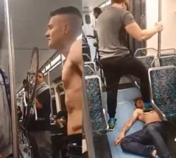 imagen Peleas en el metro que terminan bien