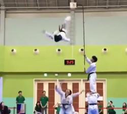 imagen Este asiático si es un Ninja real