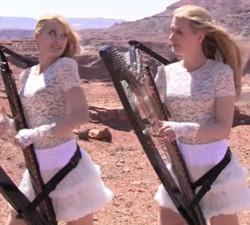 imagen Dos hermanas gemelas caidas del cielo