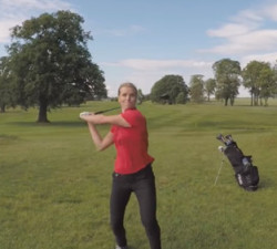 imagen Golfista violenta destroza un Dron