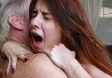 Abuelos follando nietas