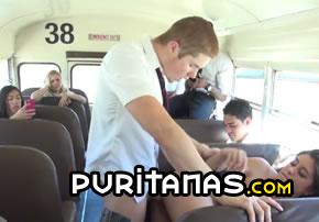 el autobus del porn Junge schwarze Teenager-Pussy.com