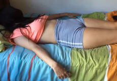 sobrina dormida