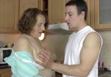 desnuda a madre