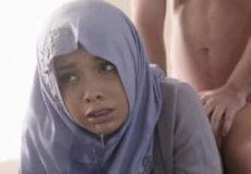 joven arabe follada