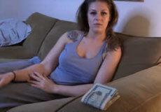 vecina dinero corrida