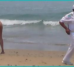¡Cógeme en la Playa!