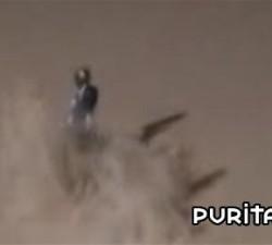 imagen caida en la arena