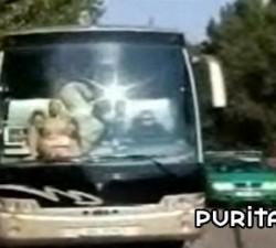 imagen un autobus muy caliente