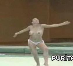 imagen gimnasia ritmica  erotica