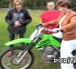 imagen un paseo en moto