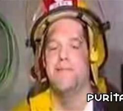 imagen apagando un buen fuego