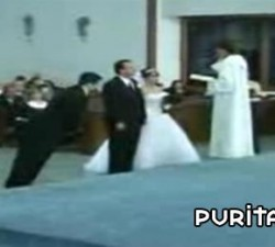 imagen en mitad de la ceremonia