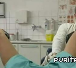 imagen en el ginecologo