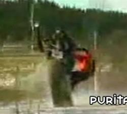 imagen la moto de nieve