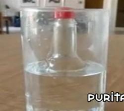 imagen ¿donde esta la botella?