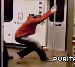 imagen carrera en el metro