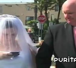 imagen chateando durante su boda