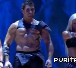 imagen concurso de gladiadores en directo