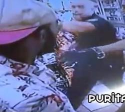imagen brutalidad policial por la cara