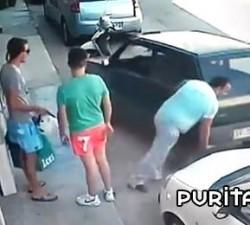 imagen salir del aparcamiento a lo bestia