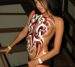 imagen una diablesa muy sexy por carnaval