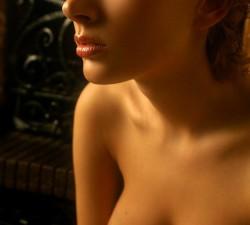 imagen jovencita rusa de aspecto angelical