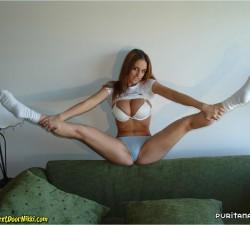 imagen una estupenda apertura de piernas
