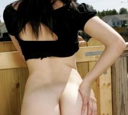 imagen mi hermana zorrea en el jardin de atras