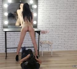 imagen emocionada ante su primera sesion porno