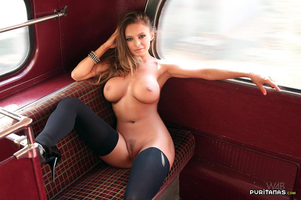Autobus Del Porno tetona britanica pasea en autobus - puritanas
